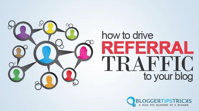 increase referral traffic
