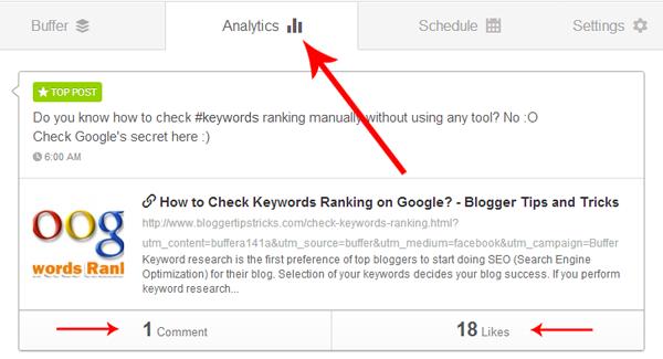 Blog Posts Analytics