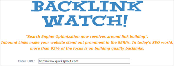 backlink watch tool