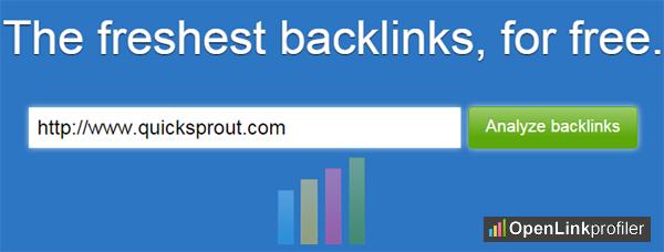 open link profiler tool