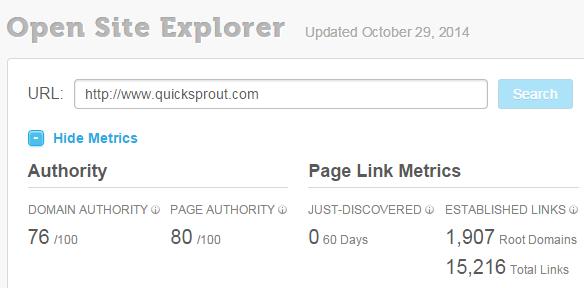 open site explorer link checker