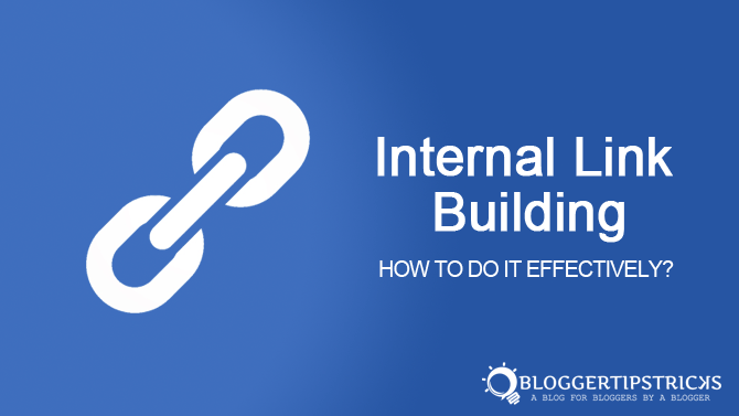 how to do internal linking for better seo results