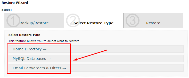 restore hostgator backup