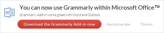 grammarly add in microsoft word
