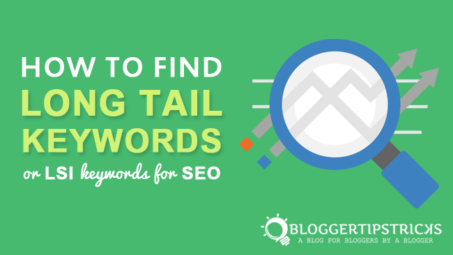 how to search long-tail keywords for blog