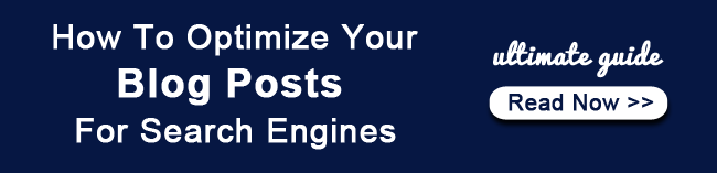 optimize blog post for search engines