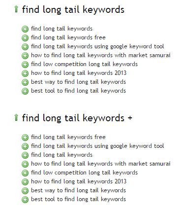 ubersuggest long tail keywords