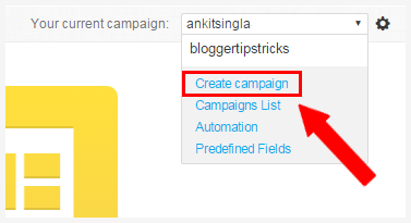 create campaign getresponse