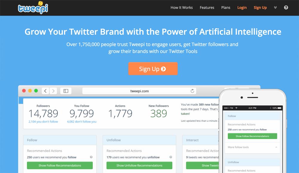 tweepi twitter tool