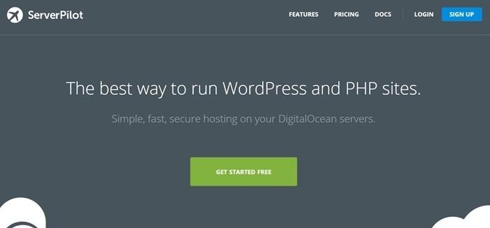 ServerPilot Homepage