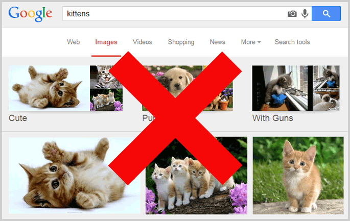 google image search copyright issue