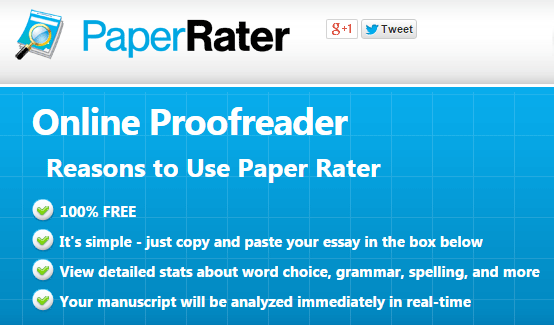 Paperrater tool