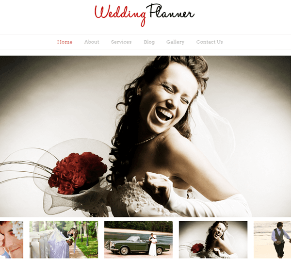 WeddingPlanner WordPress Theme