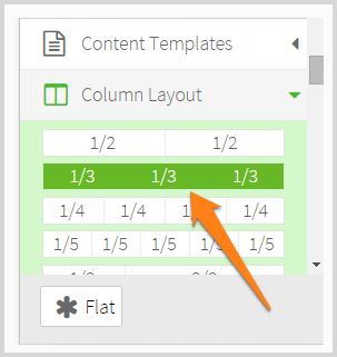 Thrive content builder column layout