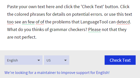 best online grammar and punctuation checker tools  language tool