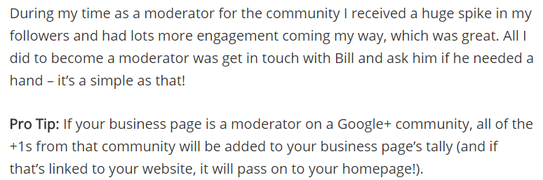 Matthew Barby Google Plus Tips