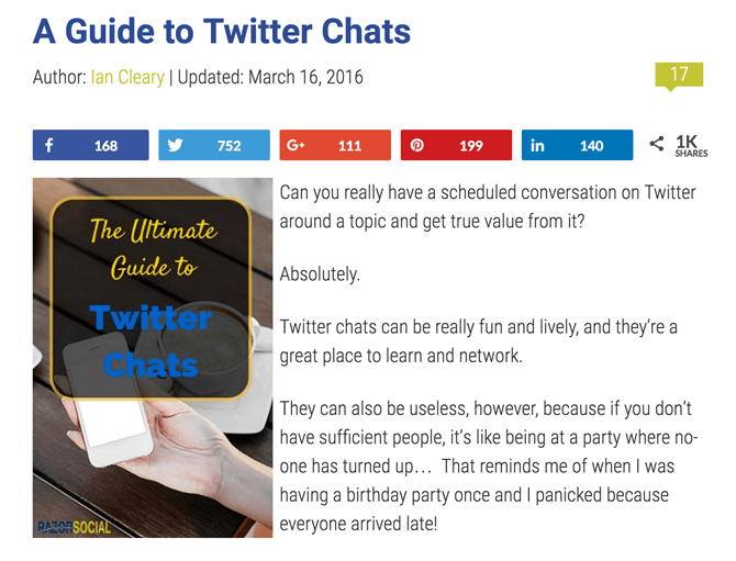 Twitter Chats Guide