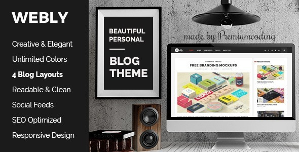 Webly Premium WordPress Theme