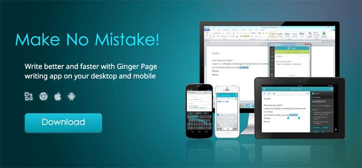 Ginger Software Grammar Checker