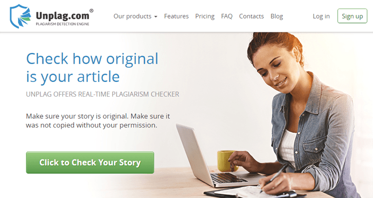Unplag Plagiarism Checker