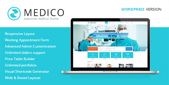 MEDICO wordpress theme