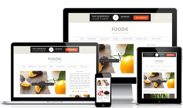 Foodie Pro WordPress Template