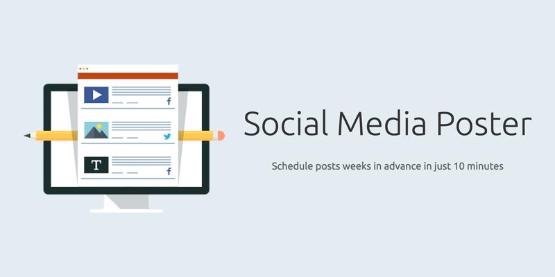 SEMrush Social Media Poster Tool