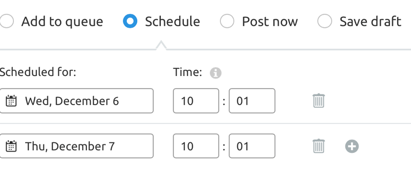 Schedule Posts for Social Media using SEMrush