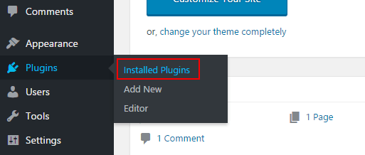 Installed-Plugins-Page