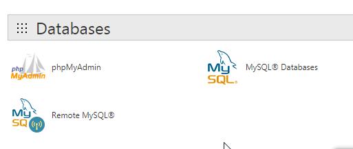 WordPress MySQL Databases
