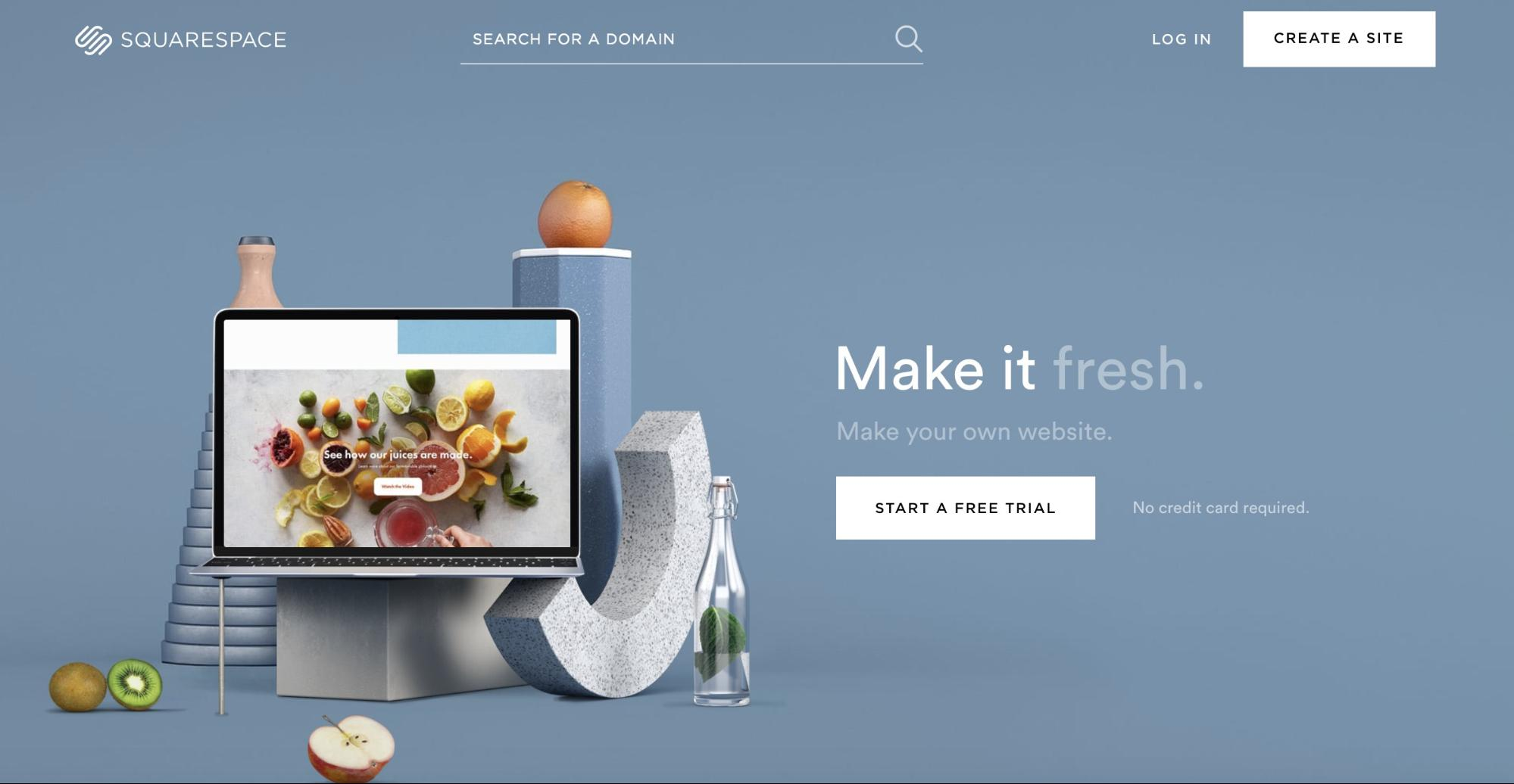 SquareSpace Blogging Platform