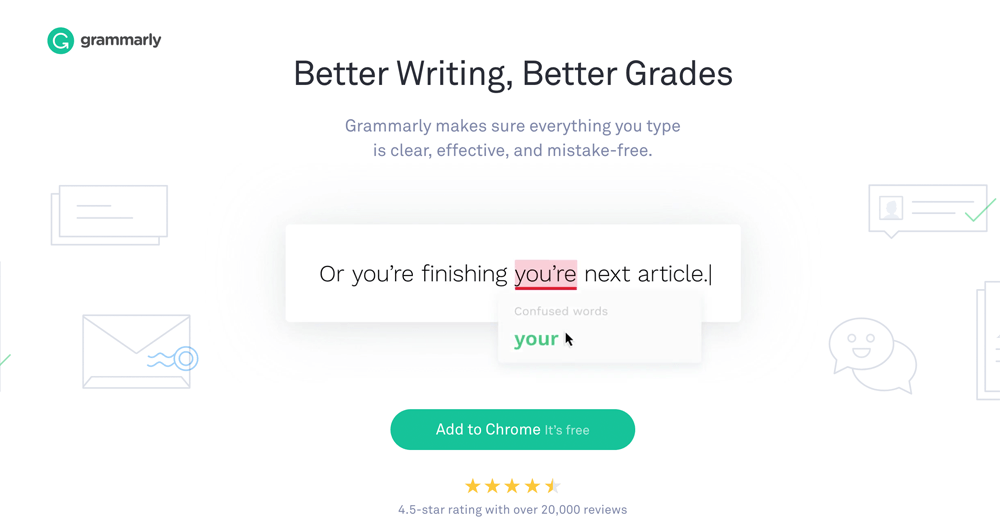 Grammarly Content Writing Tool