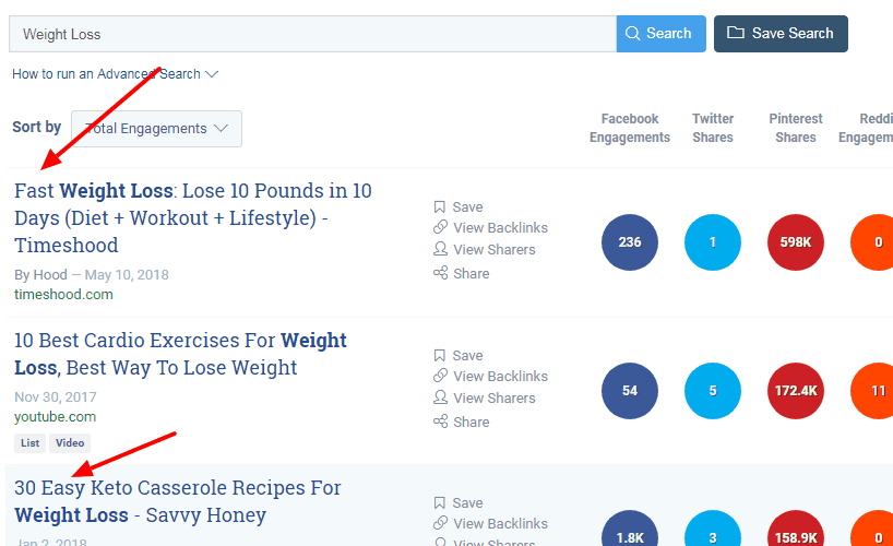 Buzzsumo product research