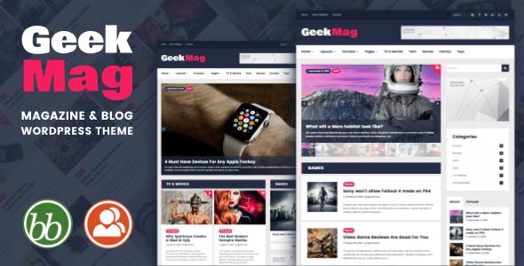 Geek Mag WordPress Theme