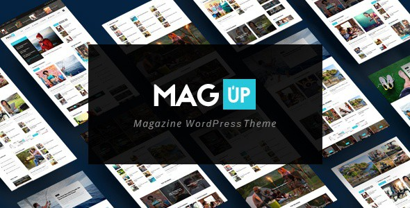Magup WordPress Theme For Tech Blog