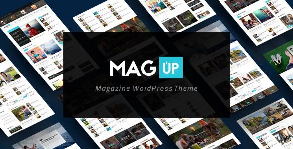 Magup WordPress Theme For Tech Blog