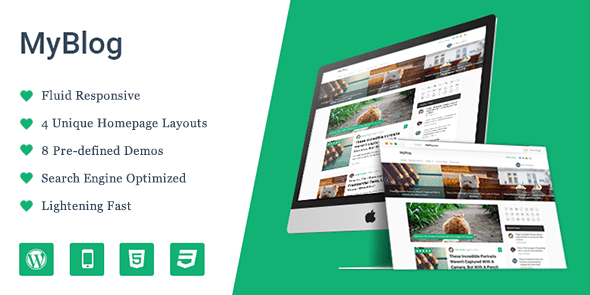 MyBlog WordPress Theme
