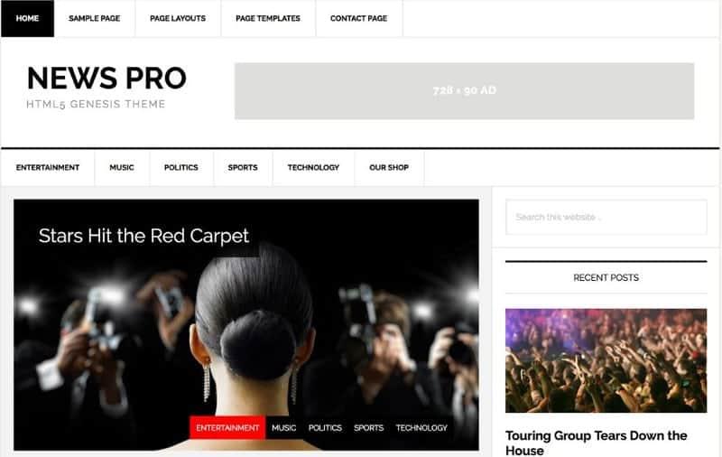 News-Pro-theme-for-tech-blog