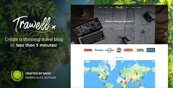 Trawell Travel Blog Theme