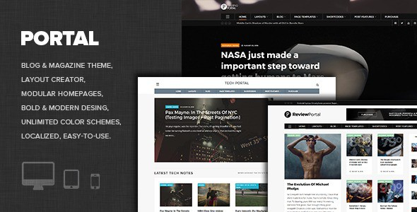 WP Portal Theme For Tech Blog