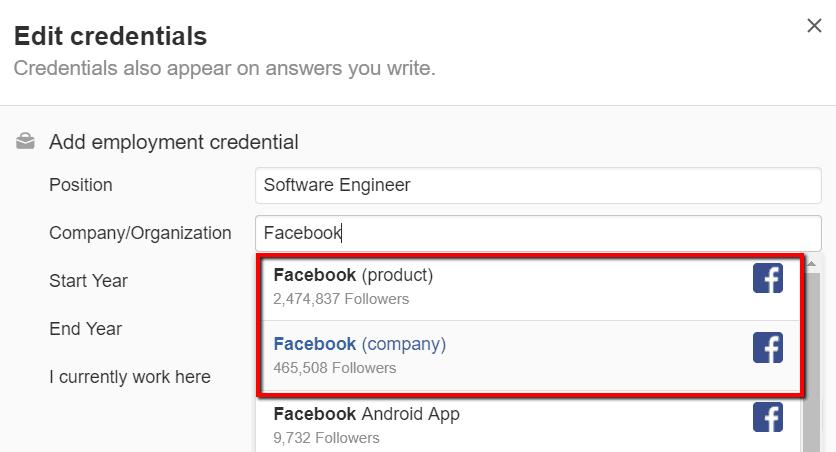 facebook topics