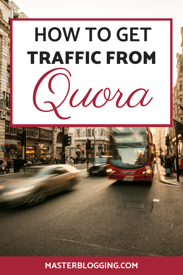 traffic from quora