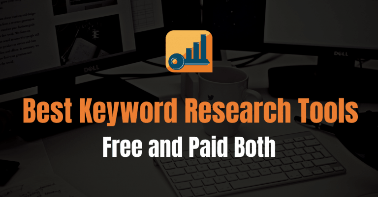 10 Best Keyword Research Tools (Free and Premium)