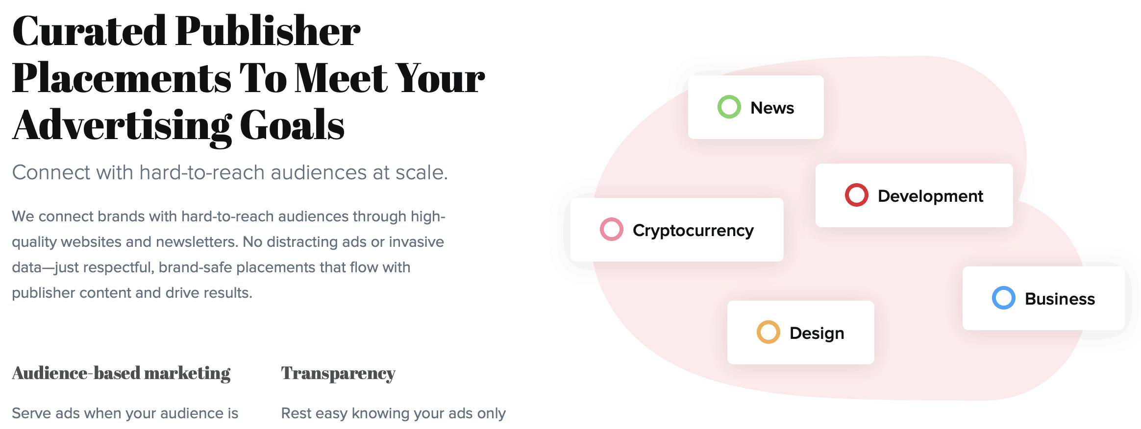 BuySellAds Homepage