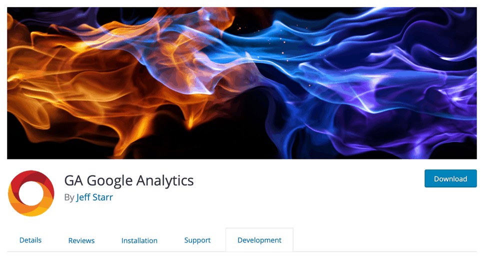 GA Google Analytics Plugin