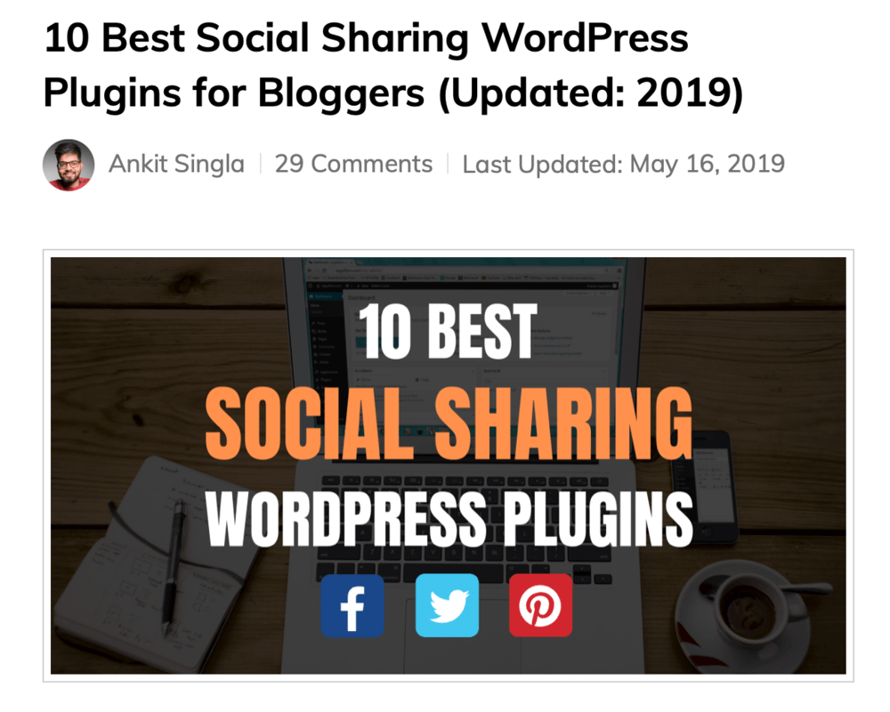 10 Best Social Sharing WordPress Plugins