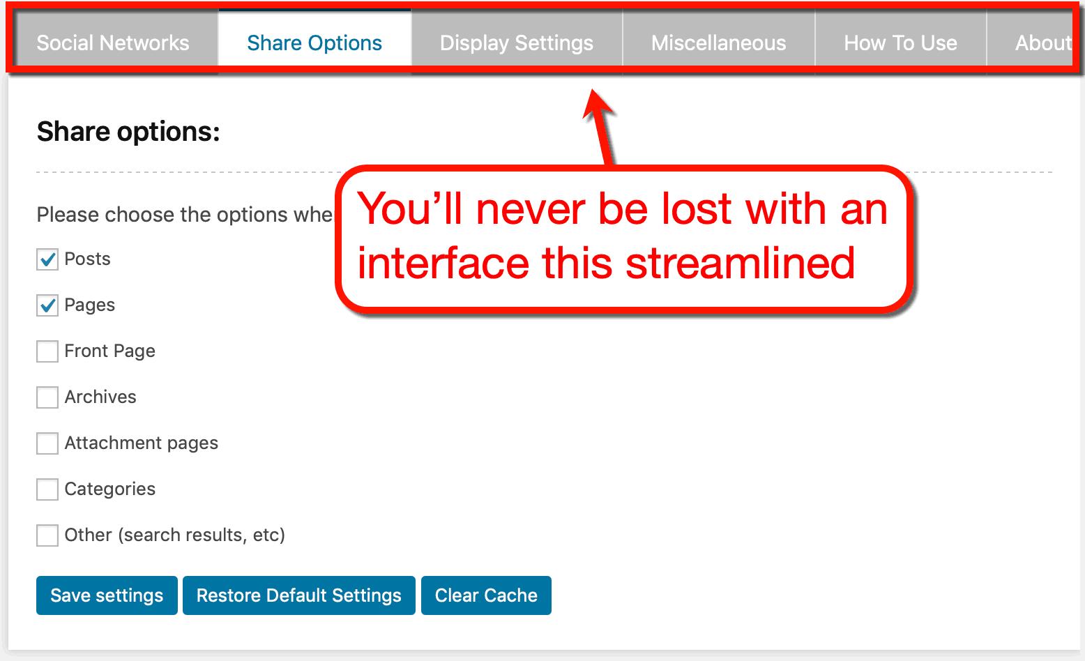 AccessPress Navigation Tabs