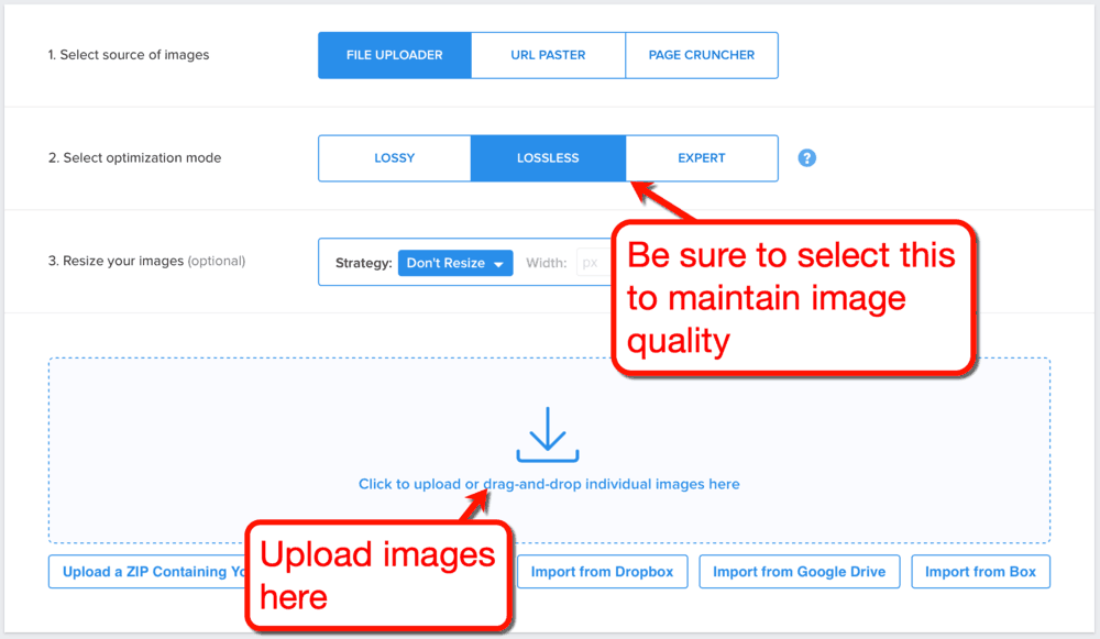 Görüntüleri Sıkıştırmak İçin Kraken.io Nasıl Kullanılır