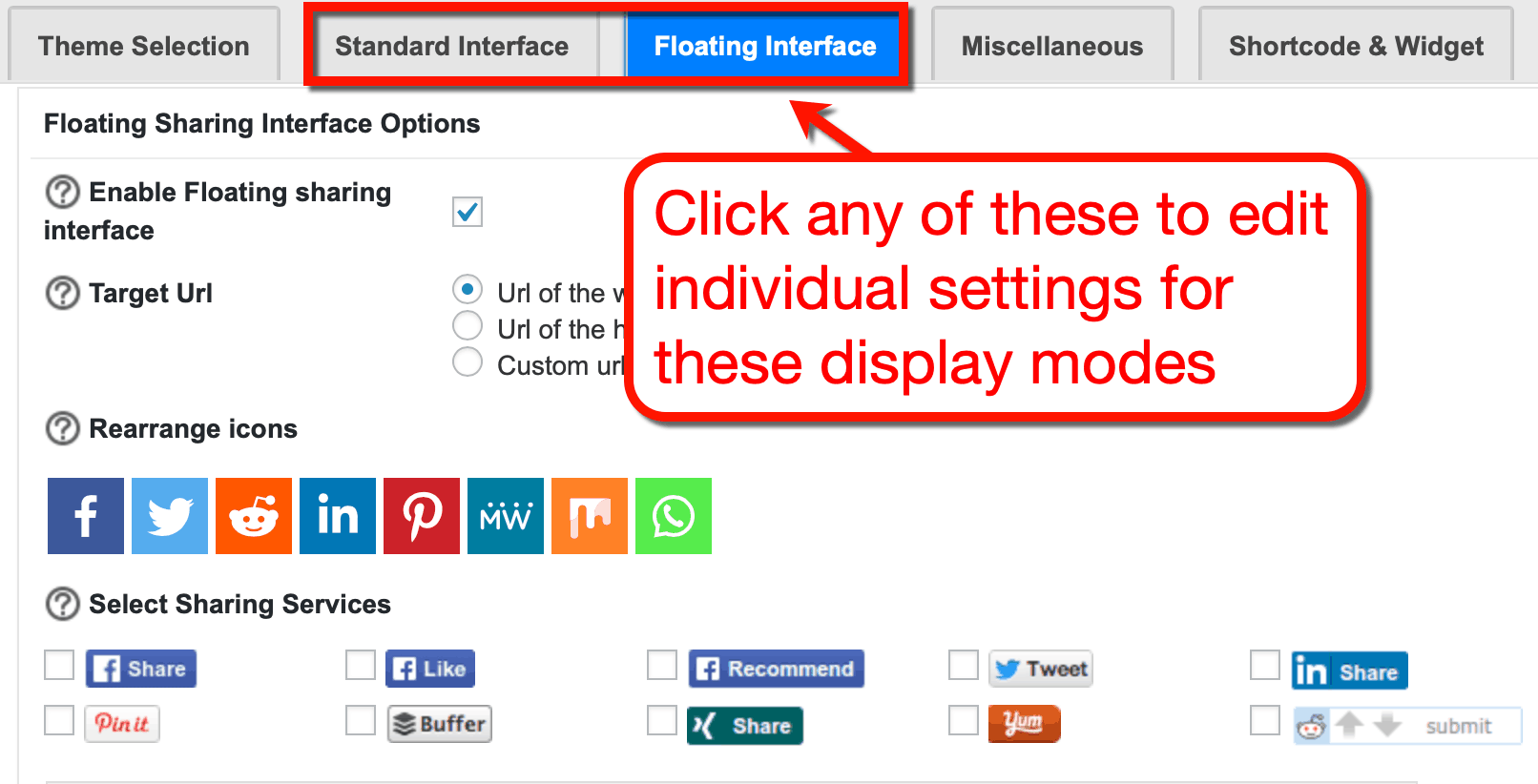 Sassy Social Share Interfaces