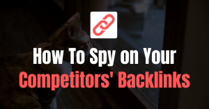 Spy on Competitors Backlinks